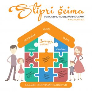 Projektai Stipri šeima